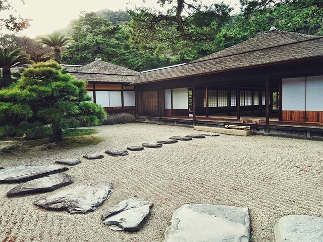 creeare il proprio giardino zen