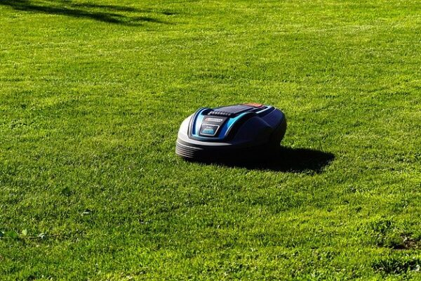 rasaerba sul giardino della tua casa